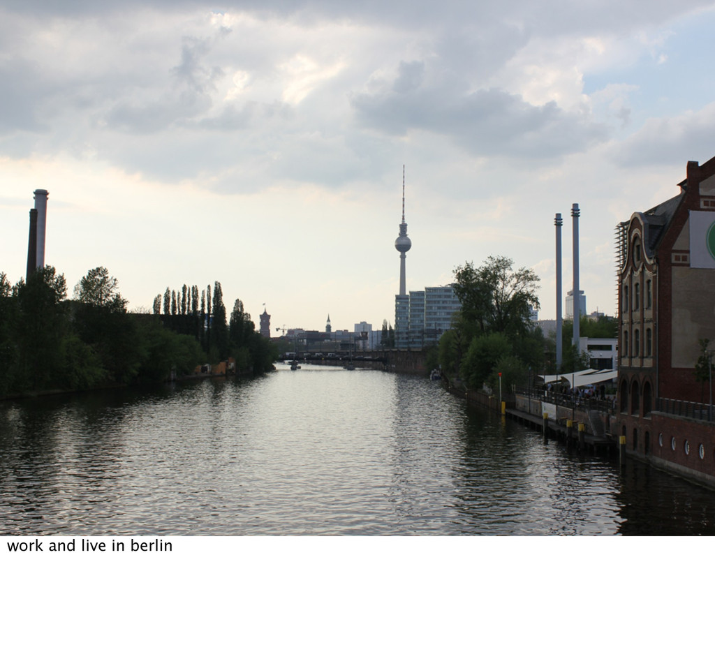 work and live in berlin