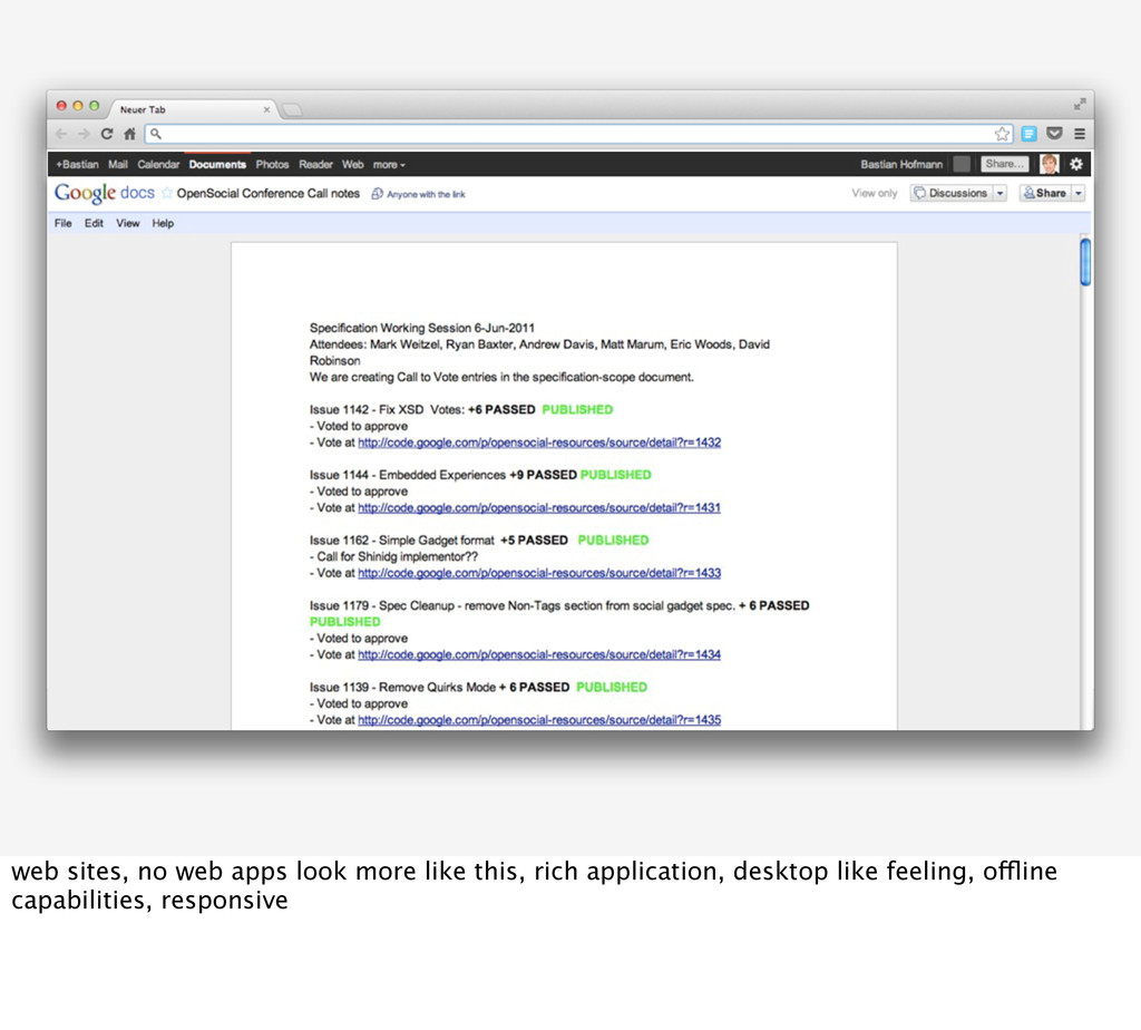 web sites, no web apps look more like this, ric...