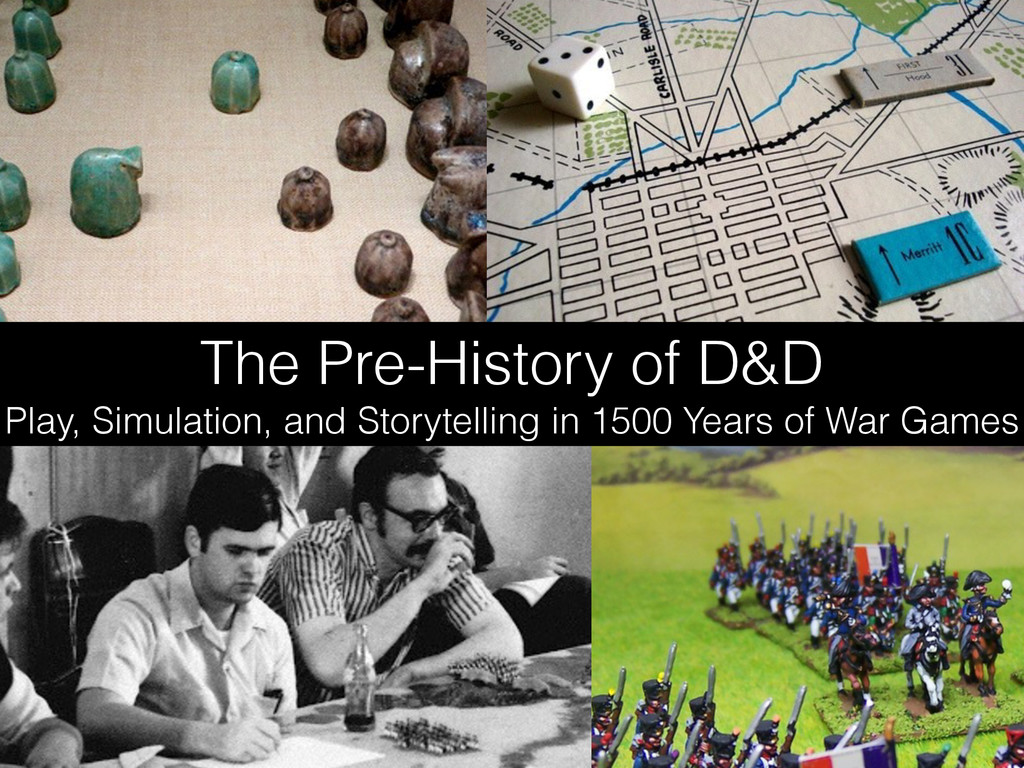 The Pre-History of D&D Play, Simulation, and St...