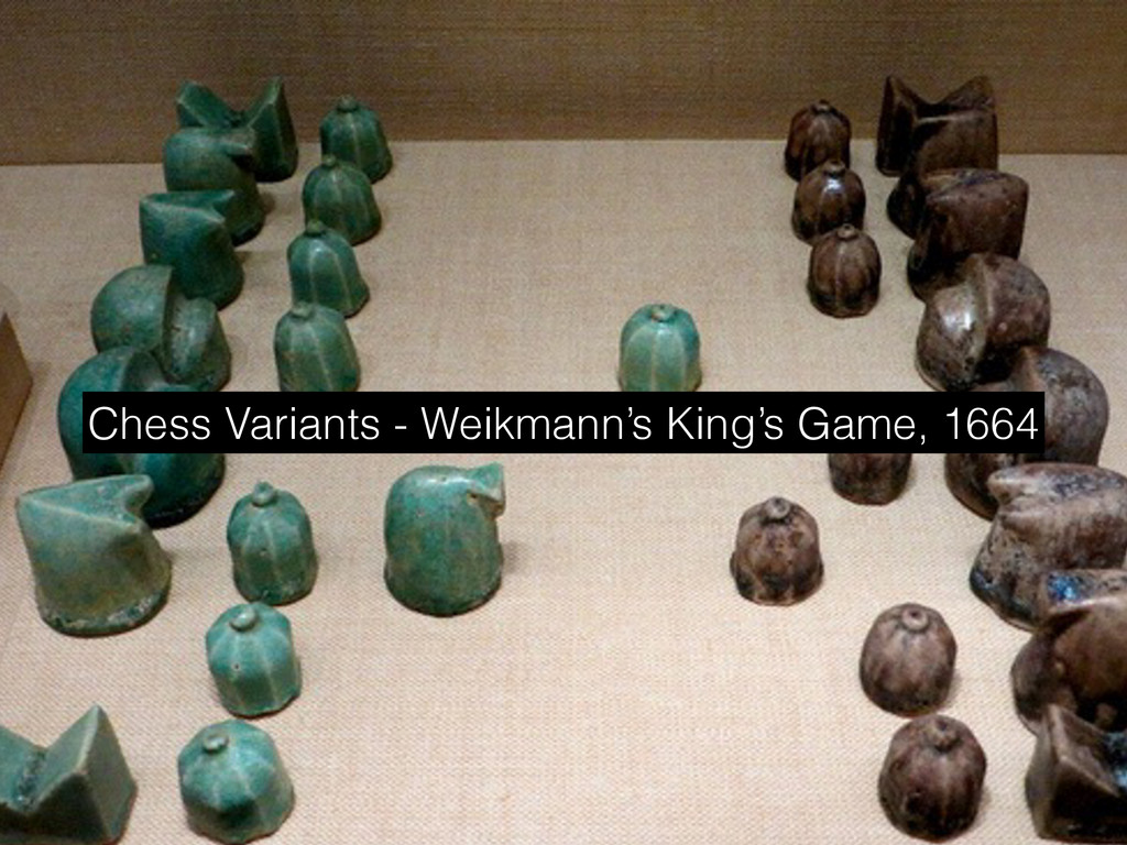 Chess Variants - Weikmann's King's Game, 1664