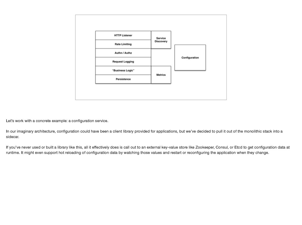 Let's work with a concrete example: a configurat...