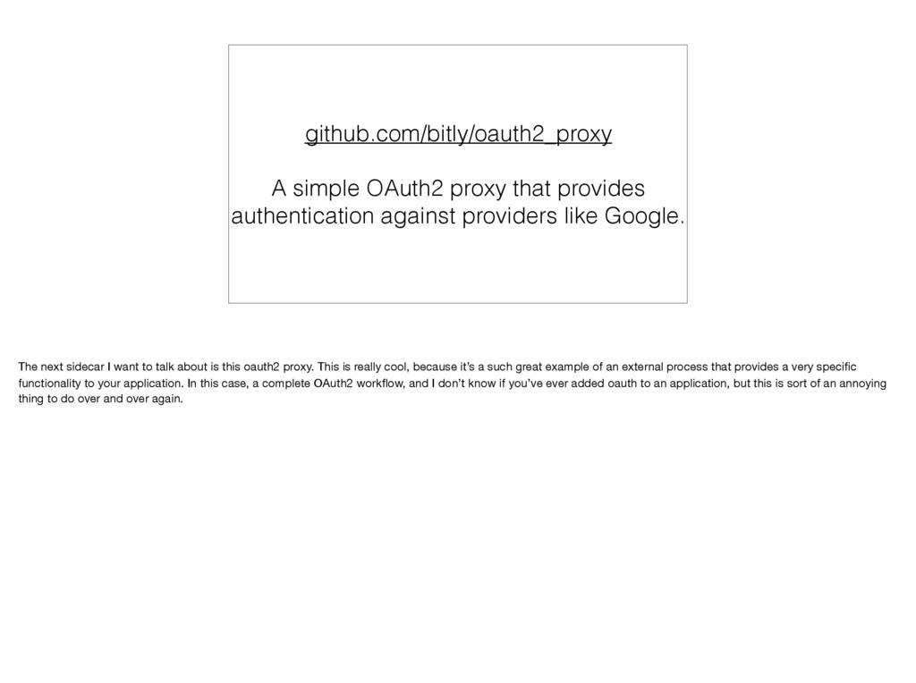 github.com/bitly/oauth2_proxy A simple OAuth2 p...