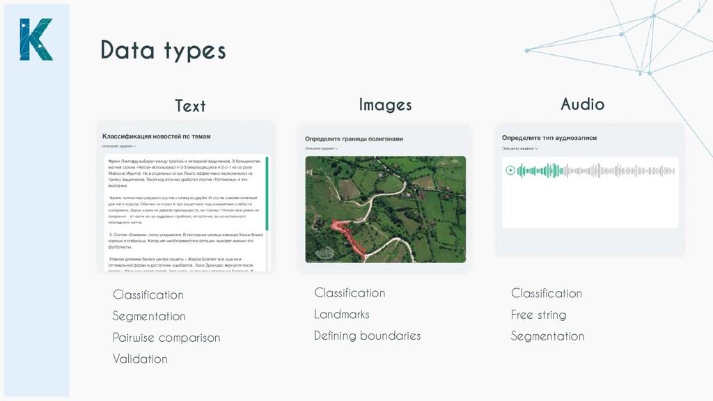 Text Audio Classification Segmentation Pairwise...