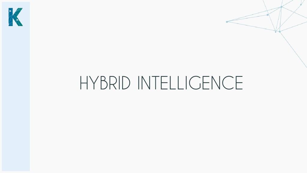 HYBRID INTELLIGENCE