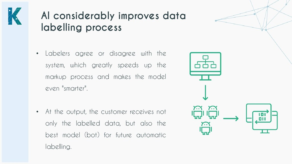 AI considerably improves data labelling process...
