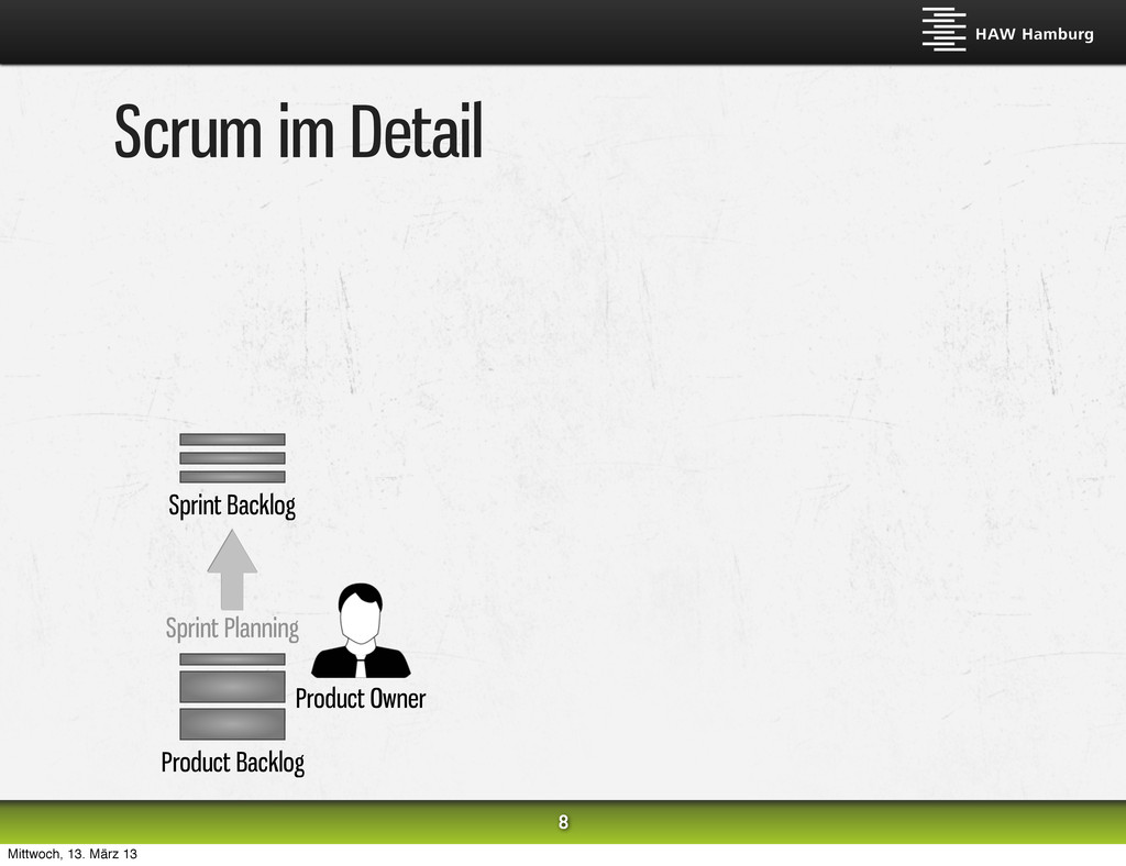 Scrum im Detail 8 Sprint Backlog Product Backlo...