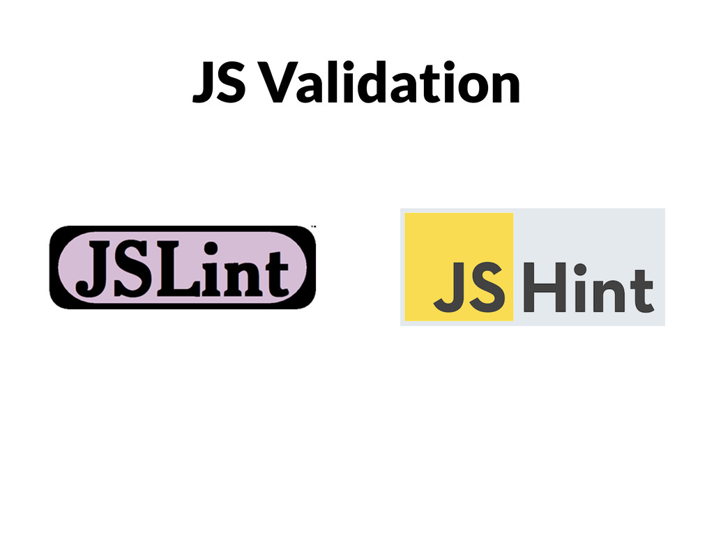 JS Validation