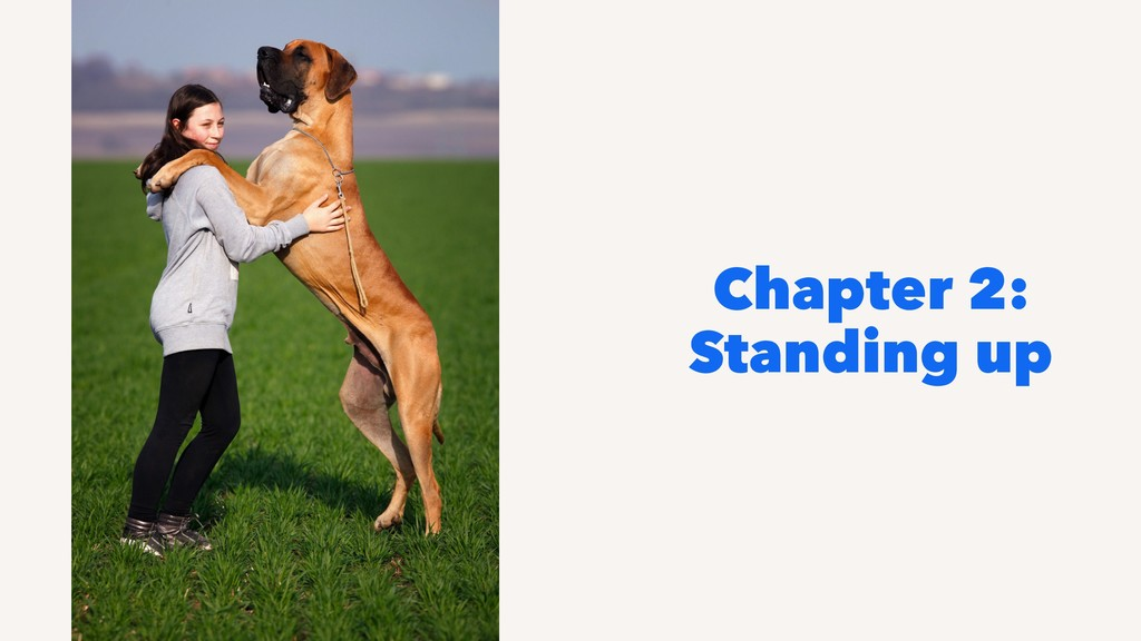 Chapter 2: Standing up