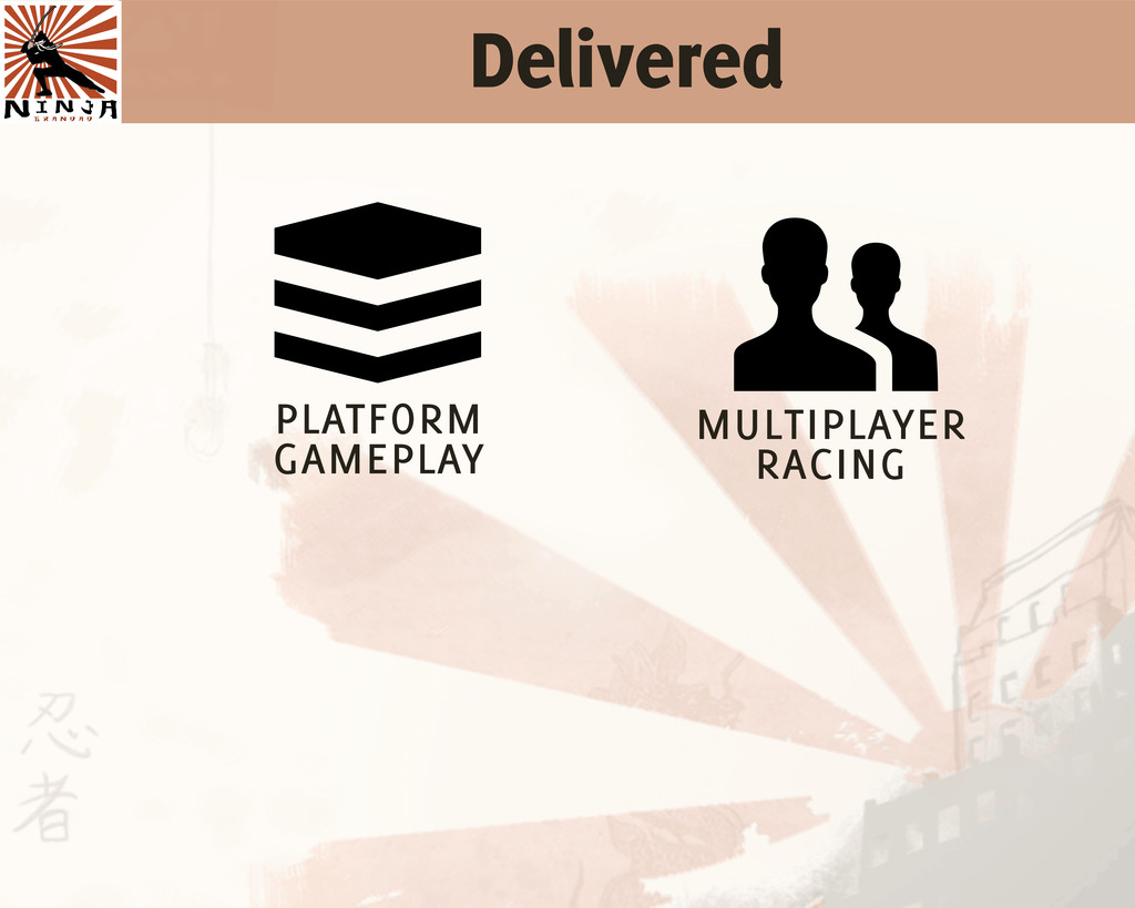Delivered  platform gameplay , multiplayer rac...