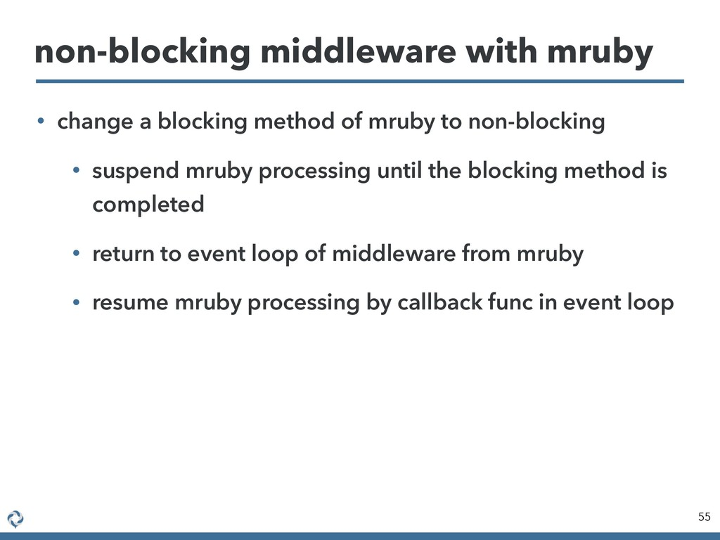 • change a blocking method of mruby to non-bloc...