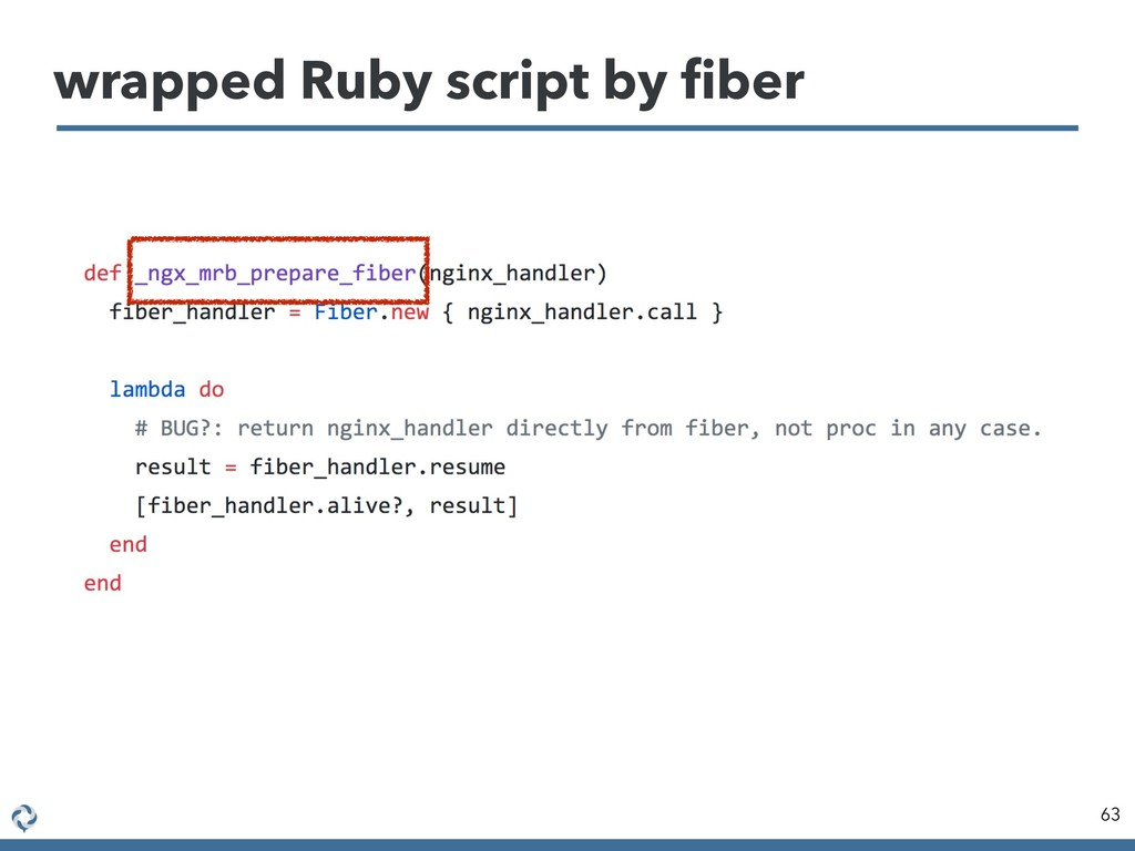 wrapped Ruby script by fiber 63