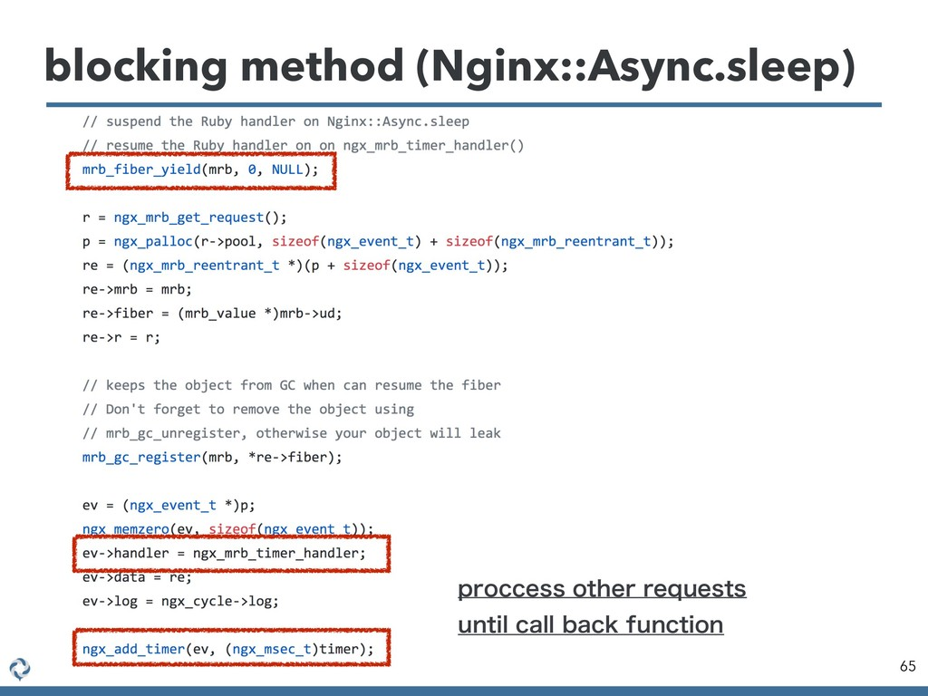 blocking method (Nginx::Async.sleep) 65 QSPDDFT...