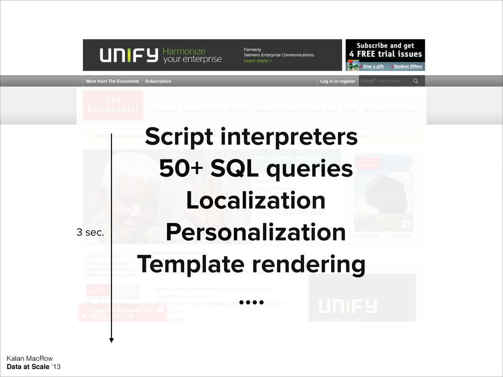 Kalan MacRow Data at Scale '13 ! Script interpr...