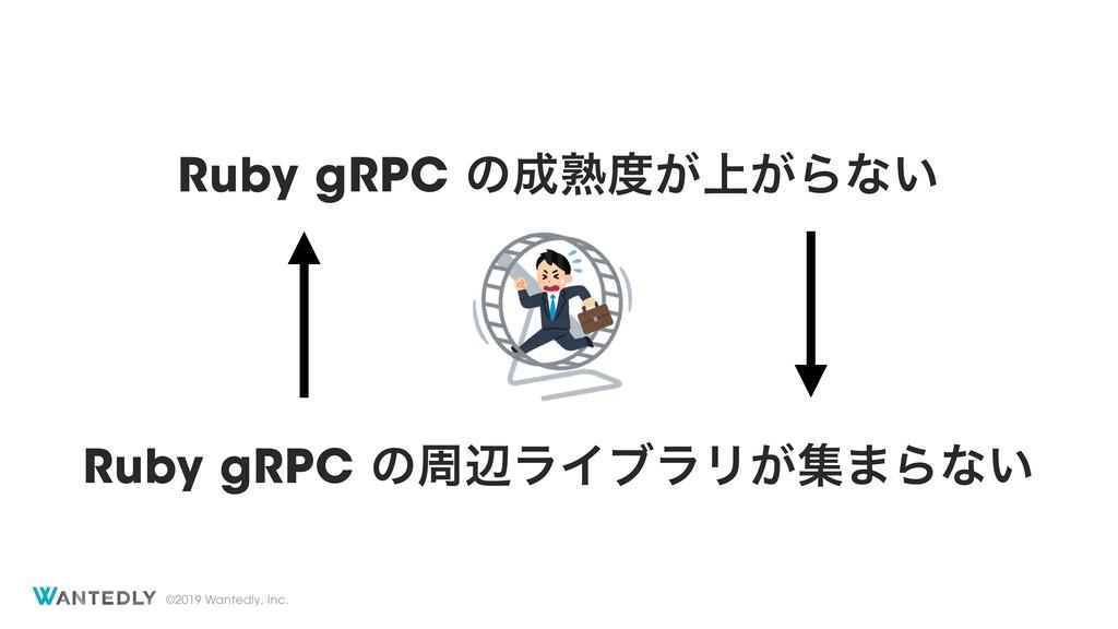 ©2019 Wantedly, Inc. Ruby gRPC ͷख़্͕͕Βͳ͍ Ruby ...
