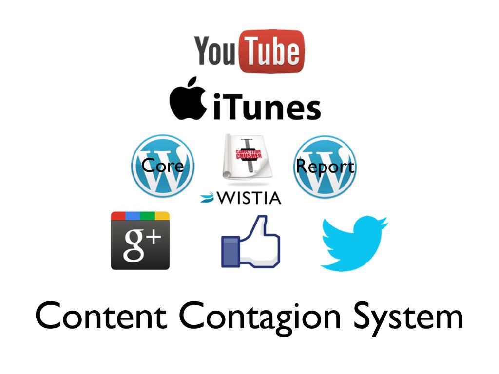 Content Contagion System Core Report