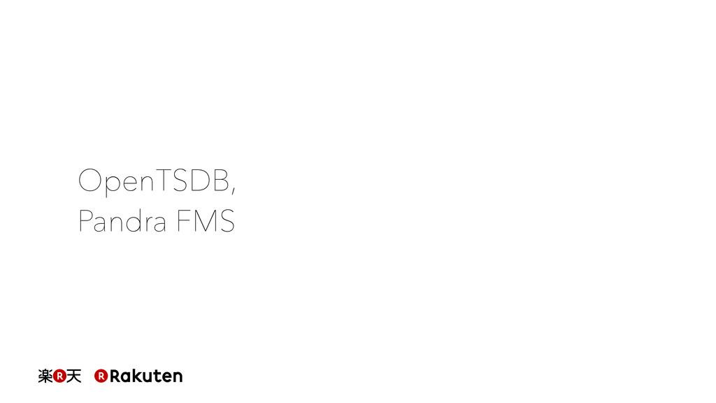 OpenTSDB, Pandra FMS