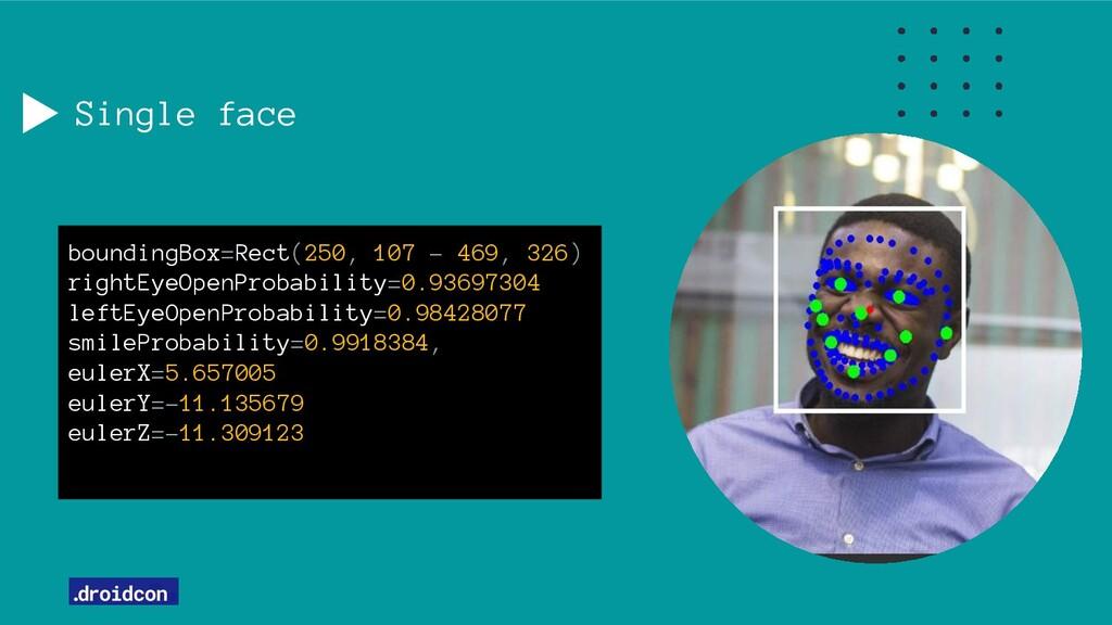 Single face boundingBox=Rect(250, 107 - 469, 32...