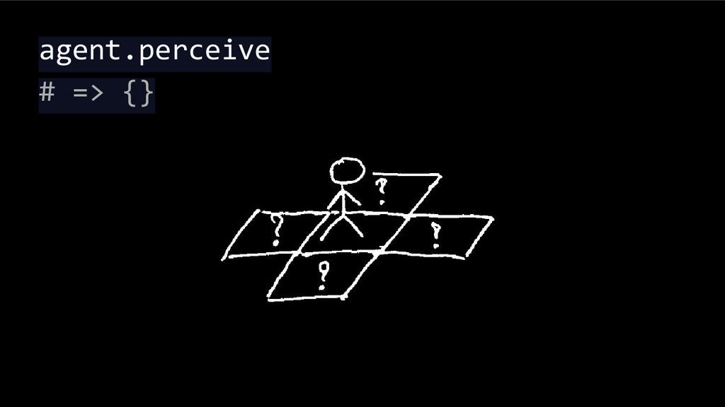 agent.perceive # => {}