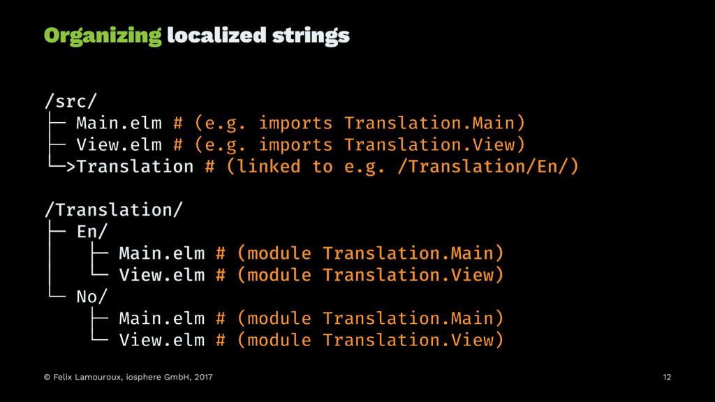 Organizing localized strings /src/ ├─ Main.elm ...