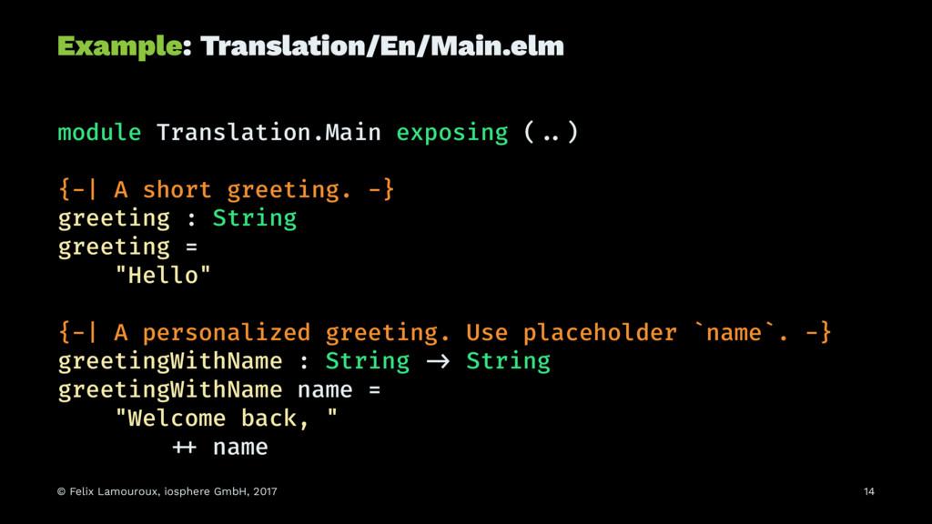 Example: Translation/En/Main.elm module Transla...
