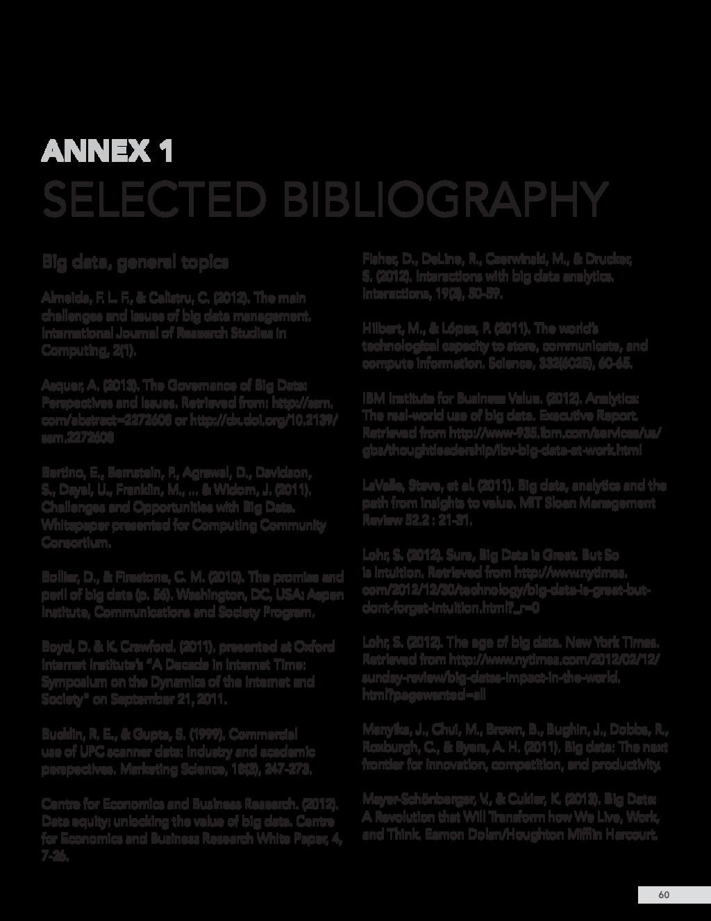 Big data, general topics Almeida, F. L. F., & C...