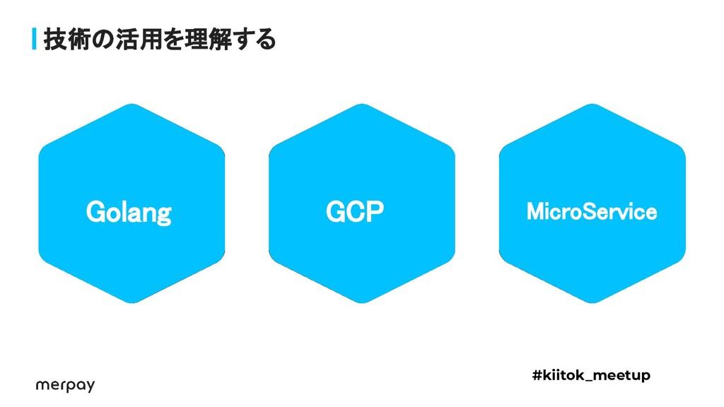 技術の活用を理解する Golang GCP MicroService #kiitok_m...