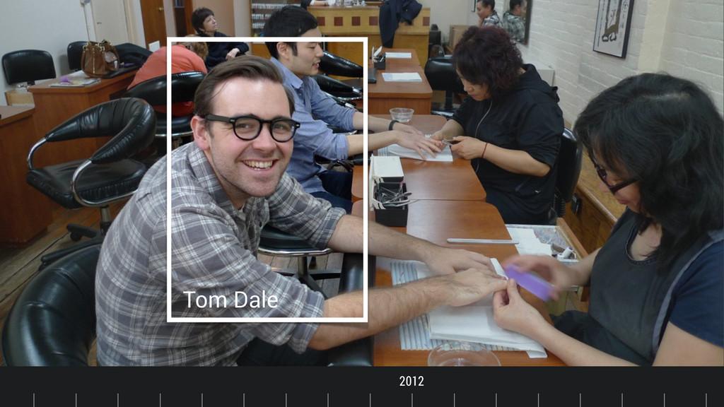 Timeline Tom Dale 2012 2011