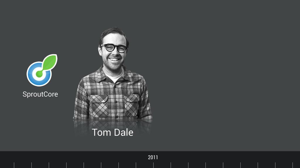 Timeline 2011 SproutCore Tom Dale