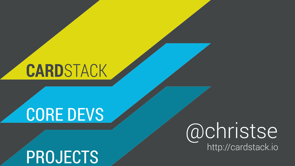 CORE DEVS PROJECTS CARDSTACK http://cardstack.i...