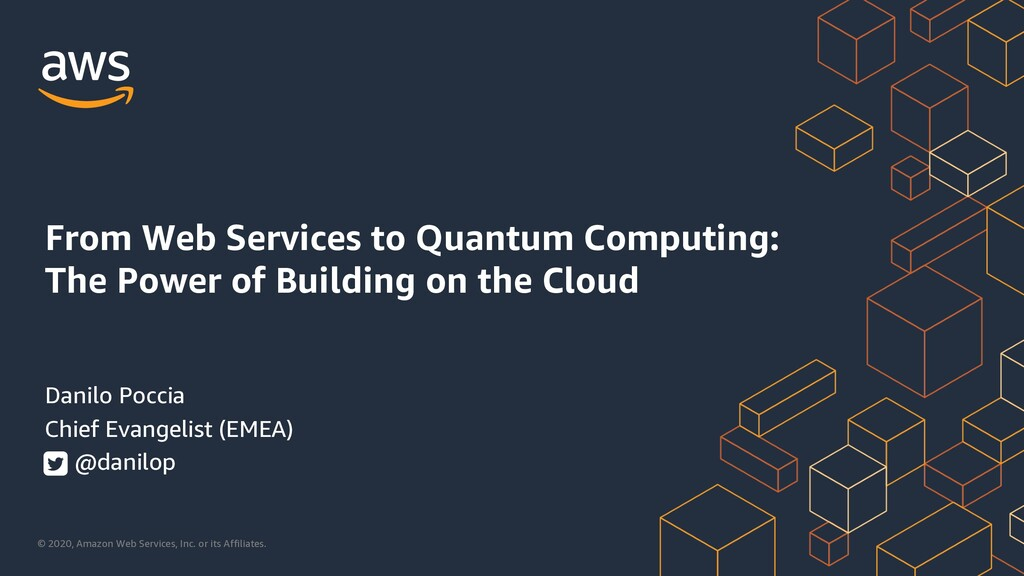 From Web Services to Quantum Computing: The Power of Building on the Cloud