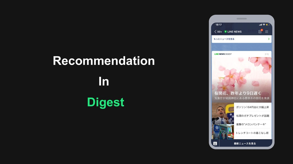 Recommendation In Digest
