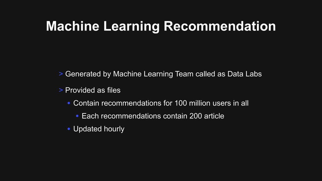 > Generated by Machine Learning Team called as ...