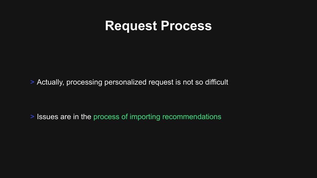 Request Process > Actually, processing personal...