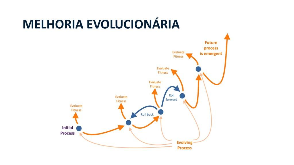 MELHORIA EVOLUCIONÁRIA