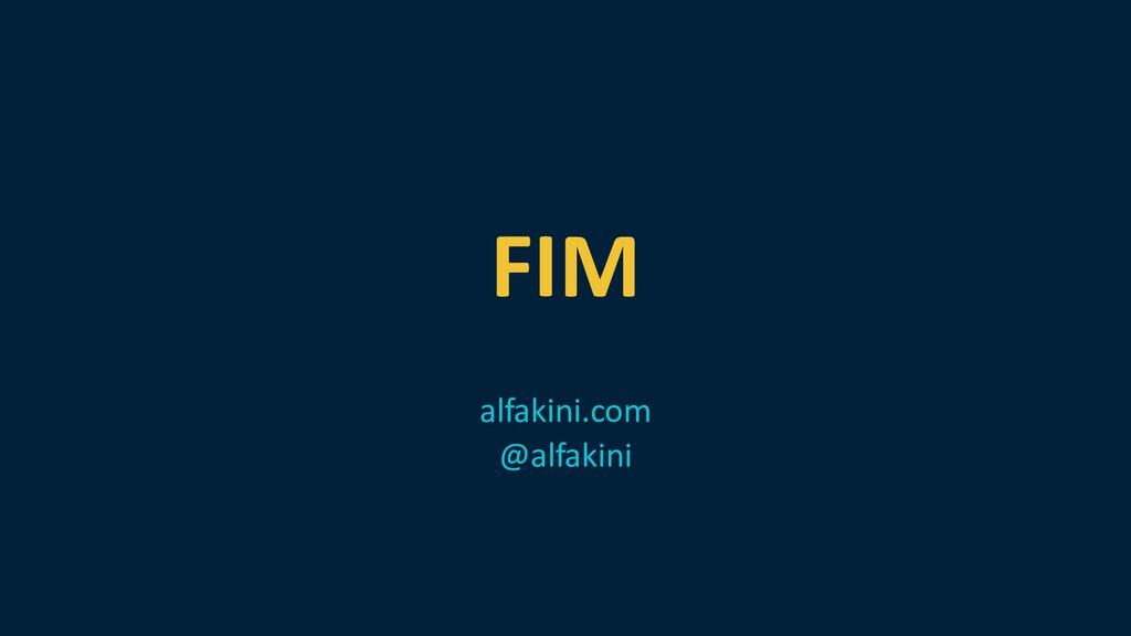 FIM alfakini.com @alfakini