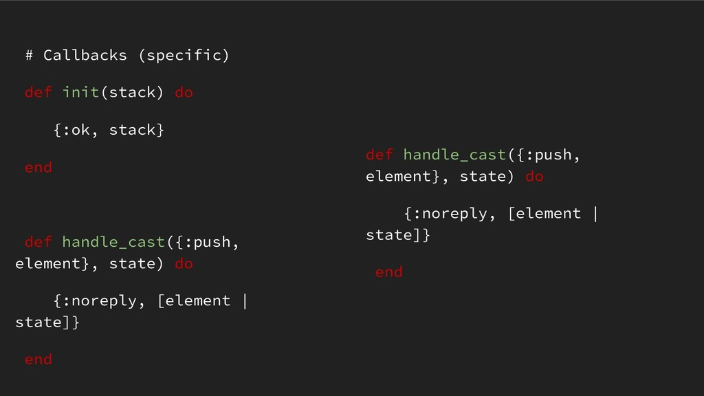 def handle_cast({:push, element}, state) do {:n...