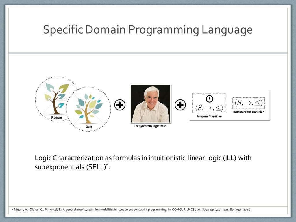 Specific Domain Programming Language Program St...
