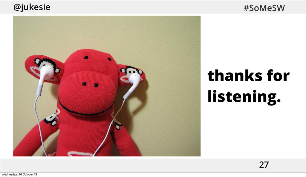 @jukesie #SoMeSW 27 thanks for listening. Wedne...