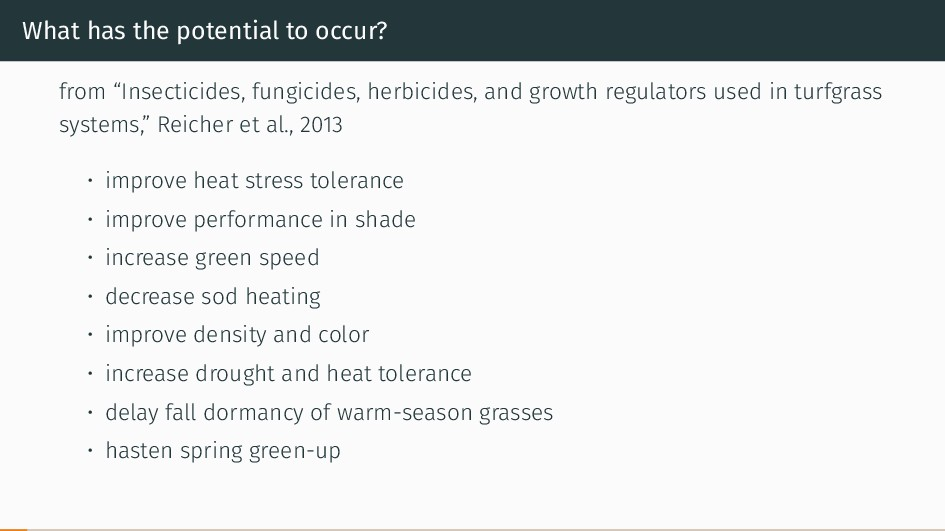 """What has the potential to occur? from """"Insectic..."""
