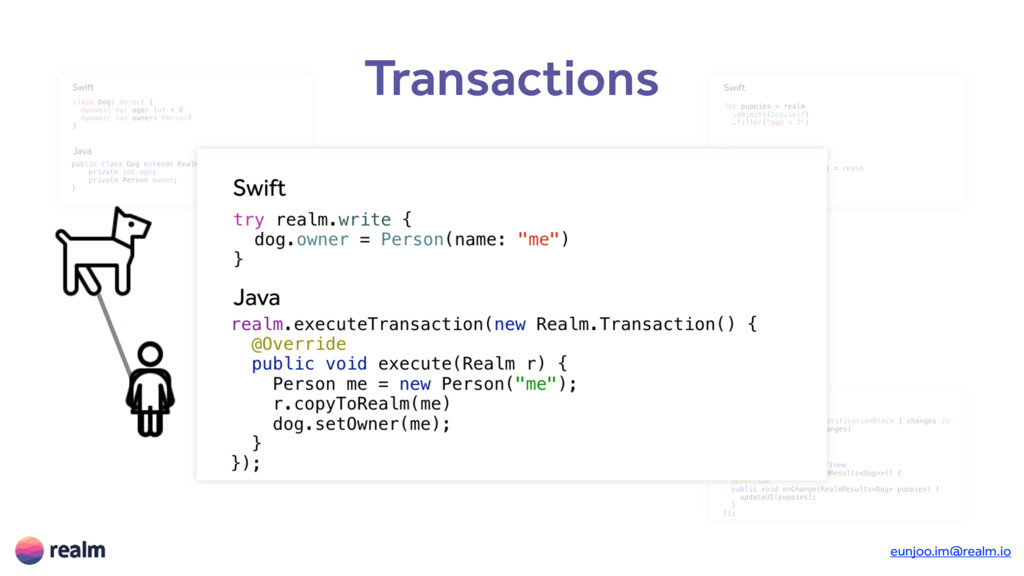 Transactions Objects Queries Notifications Tran...