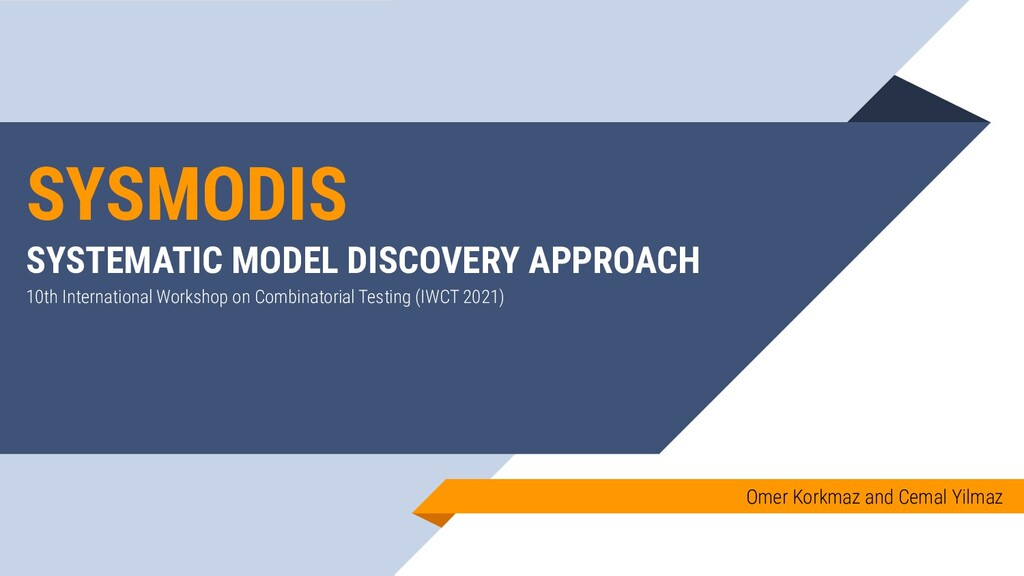 SYSMODIS SYSTEMATIC MODEL DISCOVERY APPROACH Om...