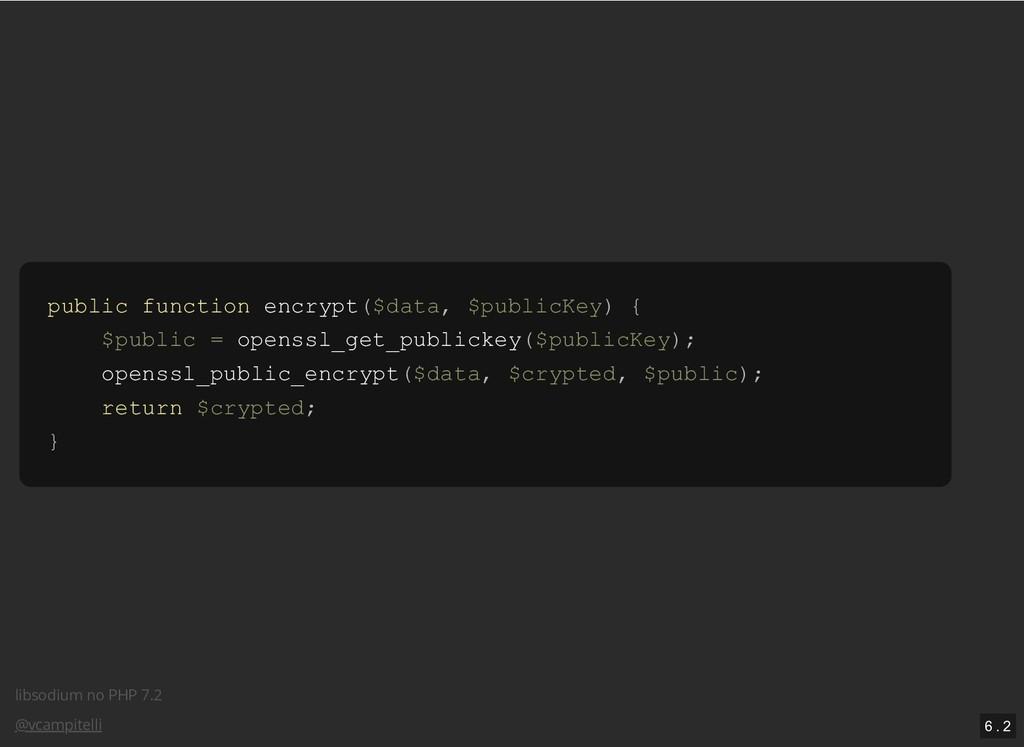 libsodium no PHP 7.2 @vcampitelli public functi...