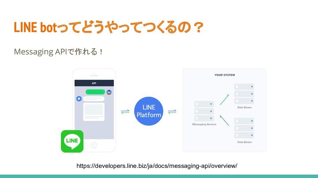 LINE botってどうやってつくるの? Messaging APIで作れる! https:/...