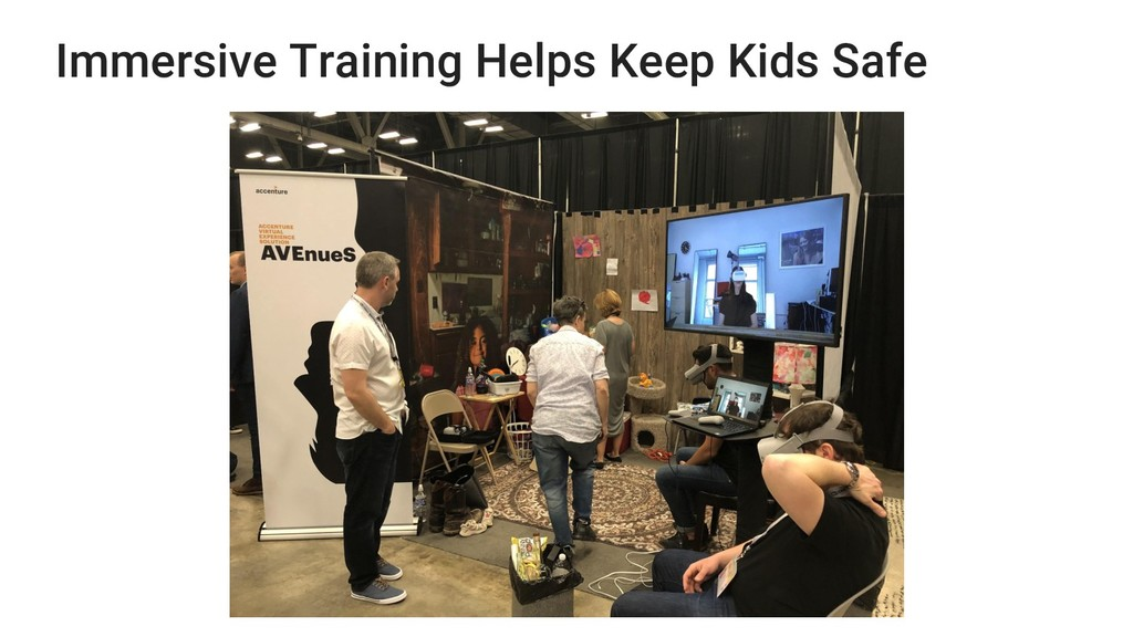 Immersive Training Helps Keep Kids Safe