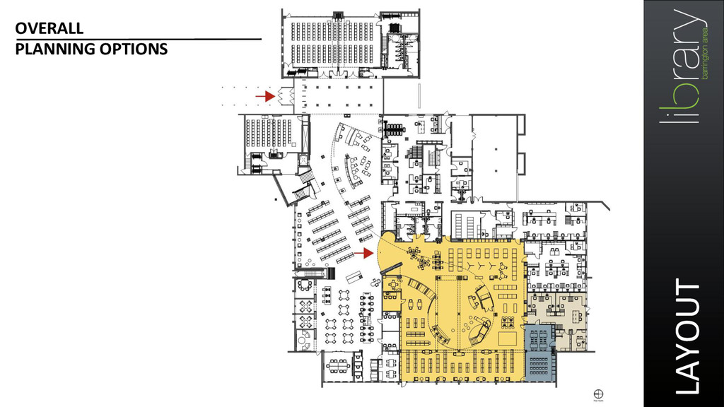 LAYOUT  OVERALL  PLANNING OPTIONS