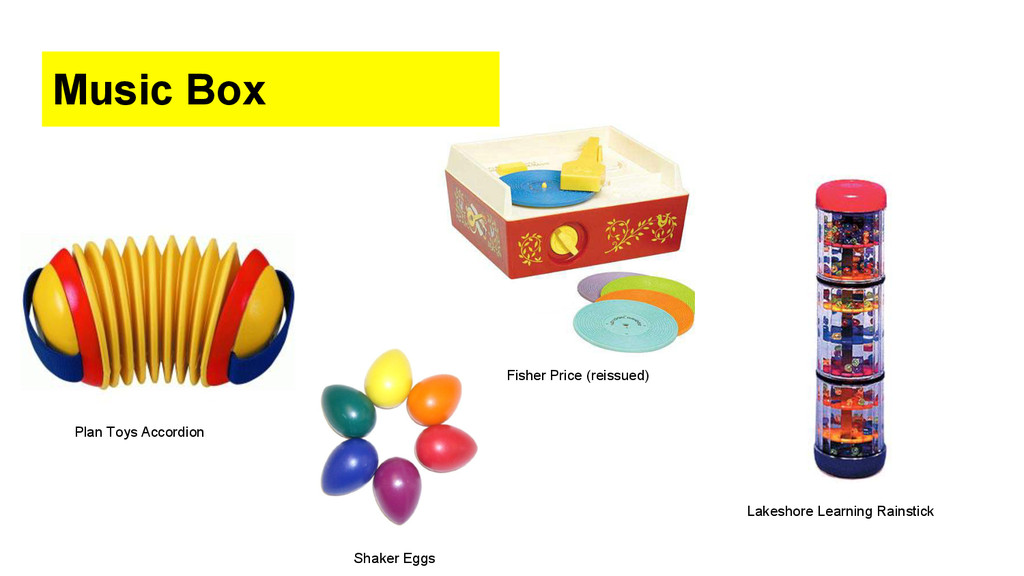 Fisher Price (reissued) Music Box Plan Toys Acc...