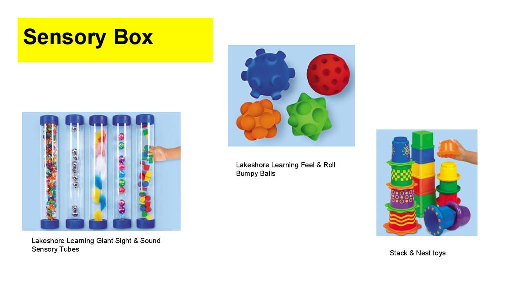 Sensory Box Lakeshore Learning Giant Sight & So...