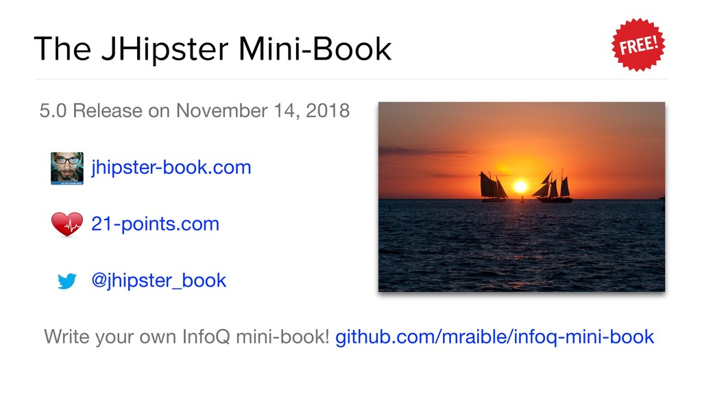 The JHipster Mini-Book 5.0 Release on November ...