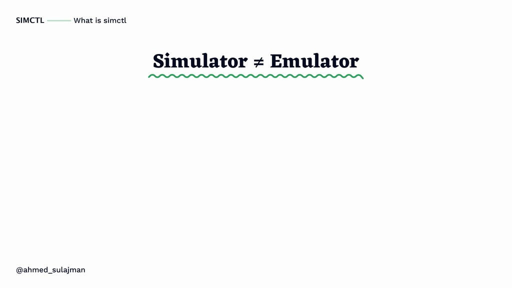 @ahmed_sulajman SIMCTL What is simctl Simulator...