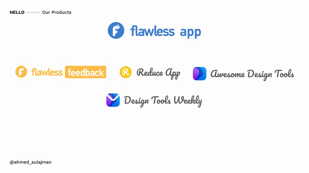 HELLO Our Products @ahmed_sulajman Reduce App A...